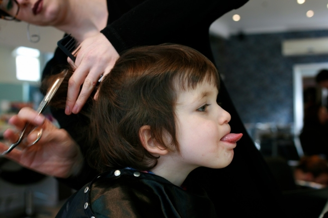 Jake Haircut