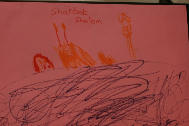shabbat drawing